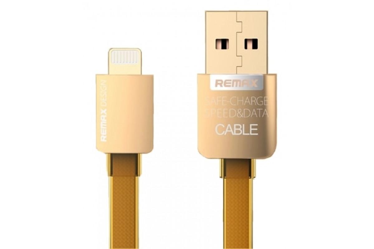 Remax Gold Lightning Apple Iphone