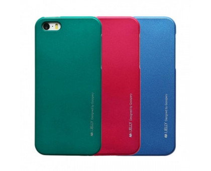 Чехол Mercury iJelly Metal series для Apple iPhone 5/5S/SE