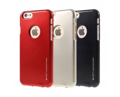 TPU чехол Mercury iJelly Metal series для Apple iPhone 6 plus/6s plus