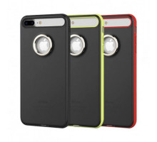 TPU+PC чехол Rock Ring Holder Case M2 Series для Apple iPhone 7 plus