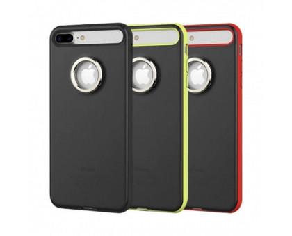 TPU+PC чехол Rock Ring Holder Case M2 Series для Apple iPhone 7 plus