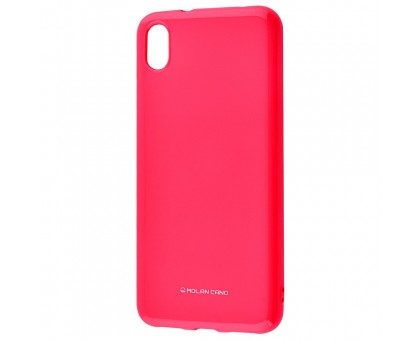 Чехол для Xiaomi Redmi 7A (Molan Cano - Glossy Jelly ) - Перманентный розовый