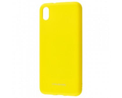 Чехол для Xiaomi Redmi 7A (Molan Cano - Glossy Jelly ) - желтый