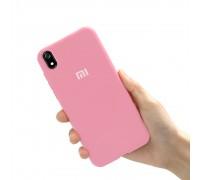 Чехол на Xiaomi Redmi 7A (original Soft Tach ) - розовый