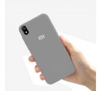 Чехол на Xiaomi Redmi 7A (original Soft Tach ) - серый