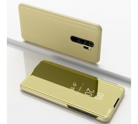 Чехол-книжка Mirror Case для Xiaomi Redmi Note 8 Pro - Золотой