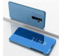 Чехол-книжка Mirror Case для Xiaomi Redmi Note 8 Pro - Голубой